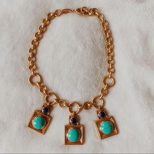 authentic julie vos turquoise necklace